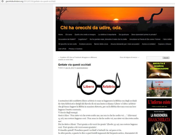 giacinto-butindaro-libero-arbitrio-predestinazione